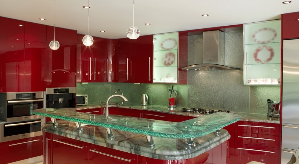 kitchen glass ideas