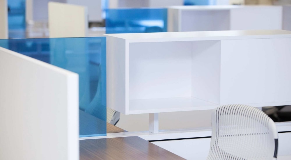 office partition glass